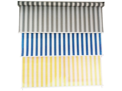 2018 hot selling fashion striped roller blinds
