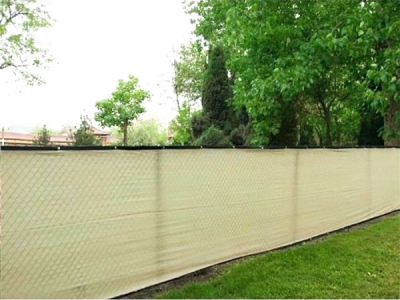 Latest style knitted plastic Fence screen for garden
