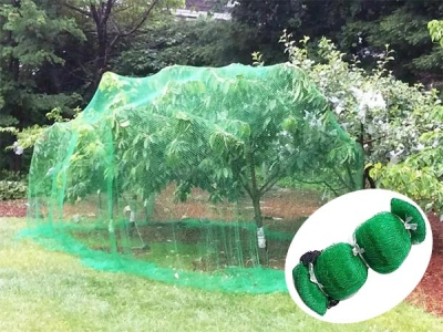 New HDPE bird proof net made by Deli Plastic Netting Factory
