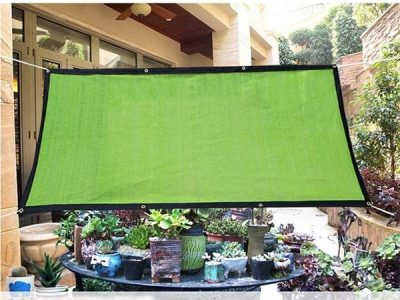 Wholesale 110 gsm colorful Sun Shade Net for Courtyard Plants