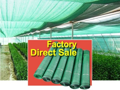 Factory Direct Sale green shade net for greenhouse shading