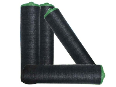 Wholesale 75-90gsm Black HDPE shade net for plant protection