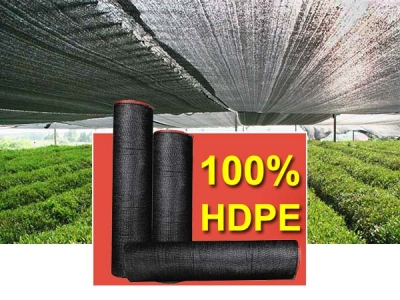 Low Price 40-100 gsm black greenhouse shade net for sale
