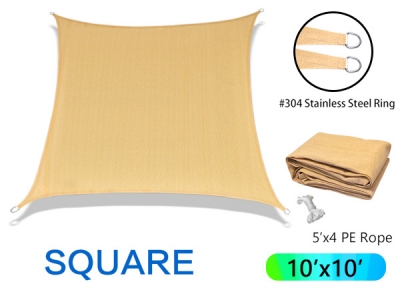 Wholesale Square sun shade sail for garden